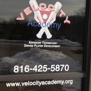 Velocity Academy Entrance